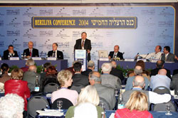 Yehiel Leket at Herzliya Conference