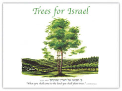 trees for israel