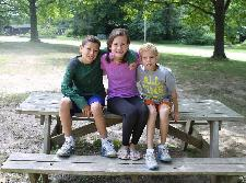 My brothers and me at Camp Wise 2013!!